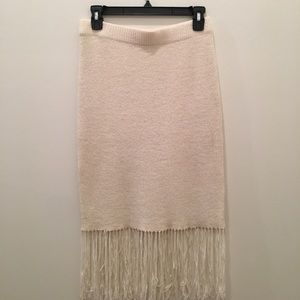 ASOS fringe skirt